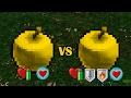 Golden VS Golden Enchanted Apple