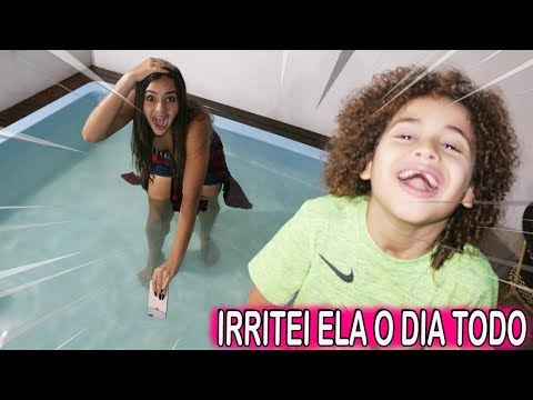 UM DIA INTEIRO IRRITANDO MINHA IRMÃ #3