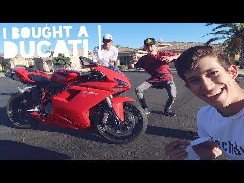 I Bought My Dream Super Bike Ducati 1098   MotoVlog