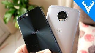Zenfone 4 vs Moto G5S Plus - Qual tem a melhor CÂMERA? Comparativo