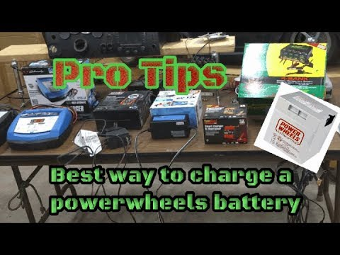 Power Wheels Ride On- Charging Tips And Tricks: How To Video