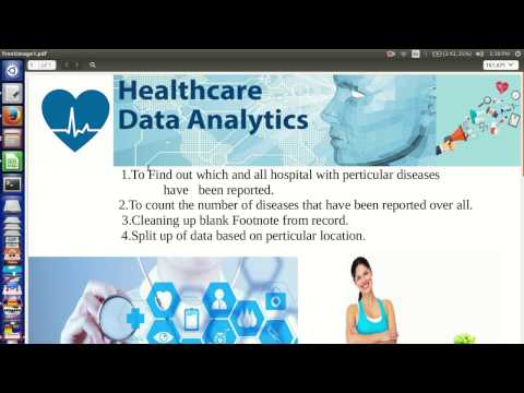 How to analyze Healthcare data using Big data tool like pig,hadoop