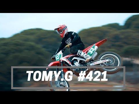 Tom Guillon #421 Beauvoisin Mc Des Costières Autumn Training 2019