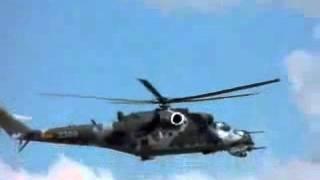 Mi-24 Rotor blades not spinning