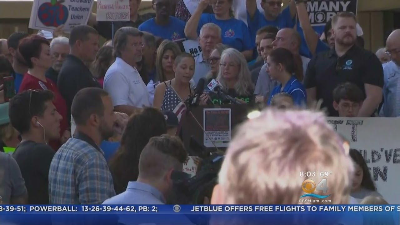 Students, Lawmakers Demand Change At Gun Control Rally Held In Fort Lauderdale