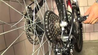 Как настроить передачи на велосипеде(Видео о том как настроить передний и задний переключать передач на велосипеде. Велодень Черновцы 2015 - https://w..., 2015-05-26T20:12:49.000Z)