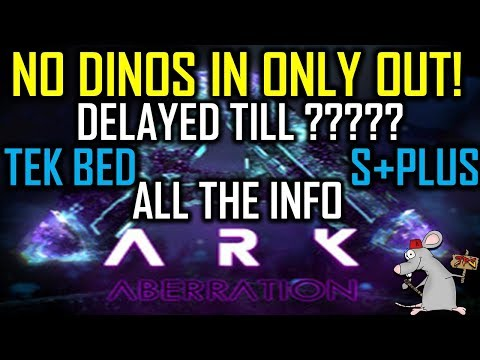 ARK Aberration Delayed (Shock) Dino Transfer Restrictions! Plus S+Mod Official