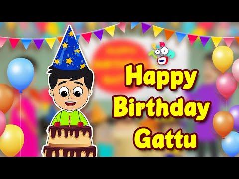 Happy Birthday Gattu   Birthday Party   Animated Stories   English Cartoon   Moral Stories   PunToon
