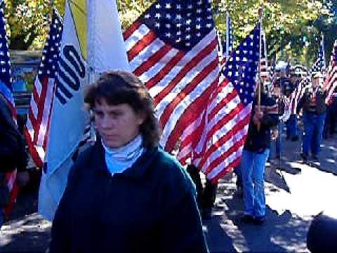 Lt. James Lyons Funeral Brighton NY Flag Procession
