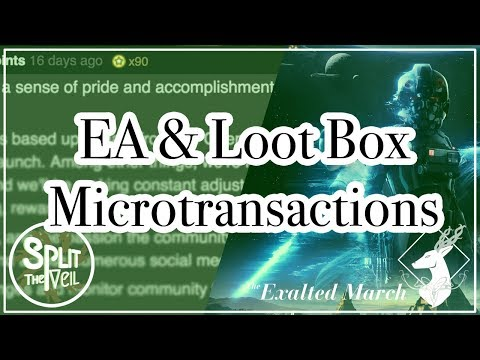 {StV: SPECIAL REPORT #1} EA and Loot Box Microtransactions