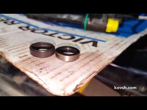 Фото к видео: Устанавливайте оригинальные шайбы обраток с форсунок на Opel Frontera 2.2d X22DTH