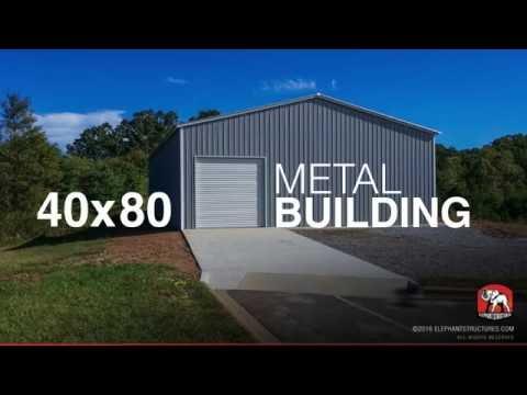 40x80 Metal Building ID29148
