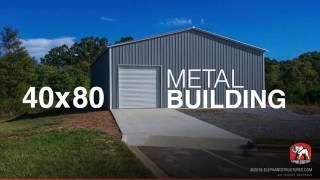 Pouring a 80 x 100 metal building slab imazi for 40x80 metal building plans