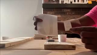 DIY Scrabble wall art!!