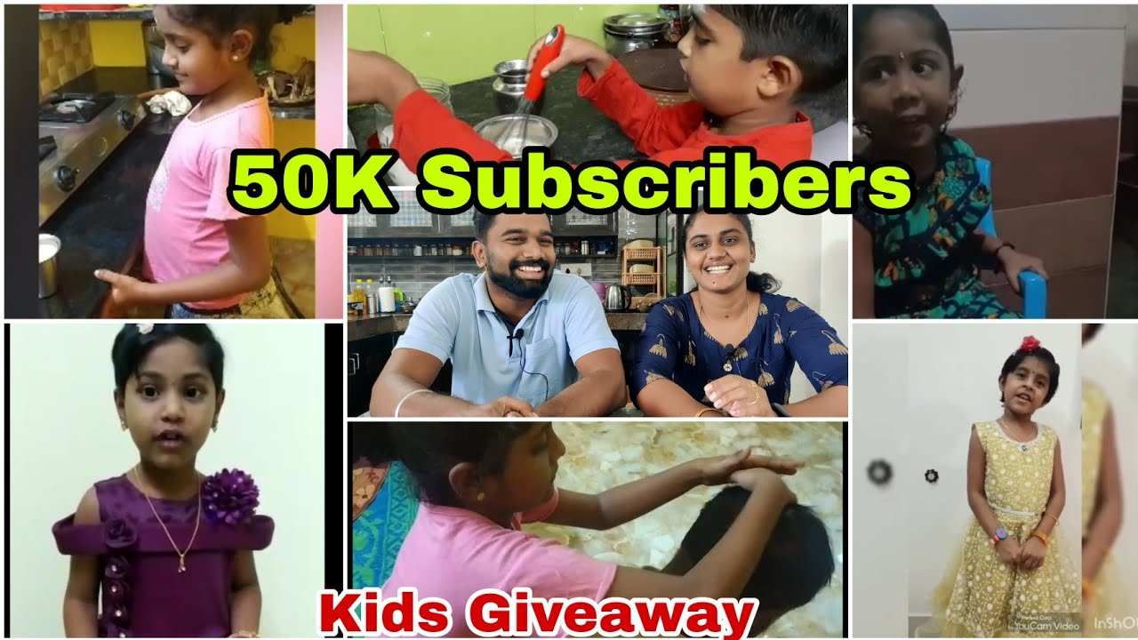 50K Subscribers Giveaway Winners Announcements | Kids Videos | RK Family Vlogs