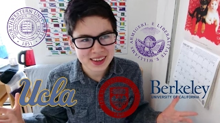 COLLEGE ADMISSIONS | Where I Applied, Where I Was Accepted, My High School Stats