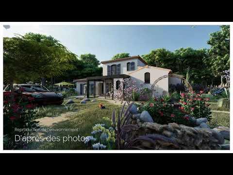 Maison traditionnelle à Rocbaron de 140m²