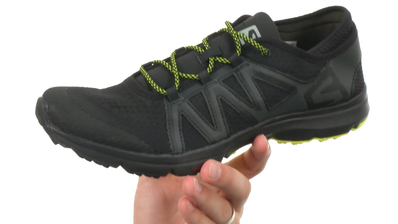 f09b8eb0f41c Salomon Crossamphibian Swift SKU 8806335 - YouTube