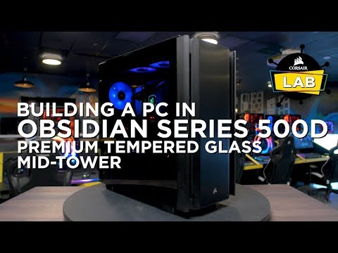 Corsair Obsidian 500D Premium Mid Tower PC Gaming Case