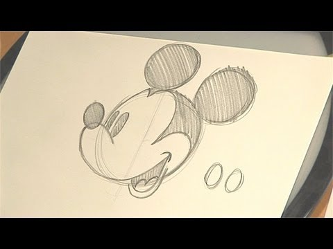 How to Draw Mickey Mouse  Disney Animation Tutorial  Babble
