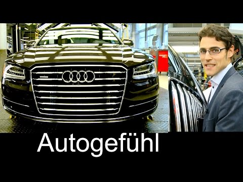 Thomas joins the Audi A8 assembly production plant in Neckarsulm, Germany Produktion