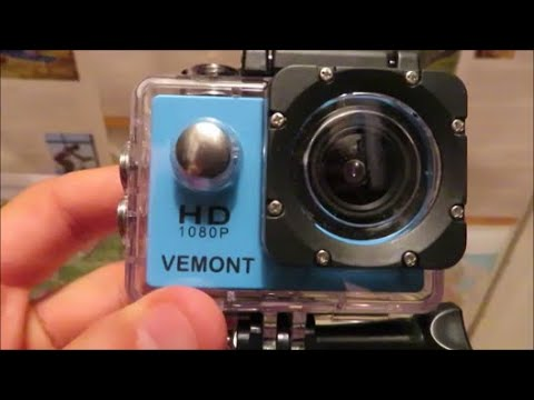 Vemont Action Camera - Review and Video Test
