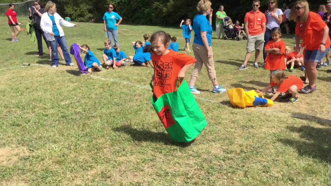 Kindergarten Field Day At Walnut Grove Elementary Youtube