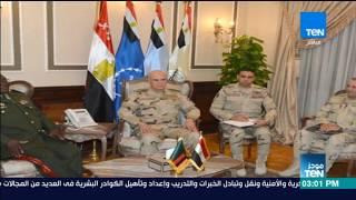 موجز  TeN - الفريق محمد فريد يلتقي قائد القوات المسلحة الزامبية