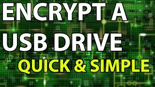 How To: USB Drive Encryption Tutorial Guide Device