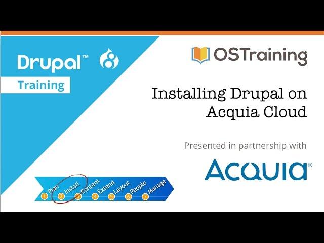 Drupal 8 Beginner, Lesson 6: Installing Drupal on Acquia Cloud