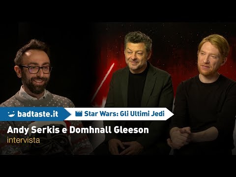 EXCL - Star Wars, Andy Serkis and Domhnall Gleeson on Snoke threat, motion capture controversy