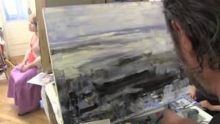 Русский город. Масляная живопись, уроки в Москве и Питере