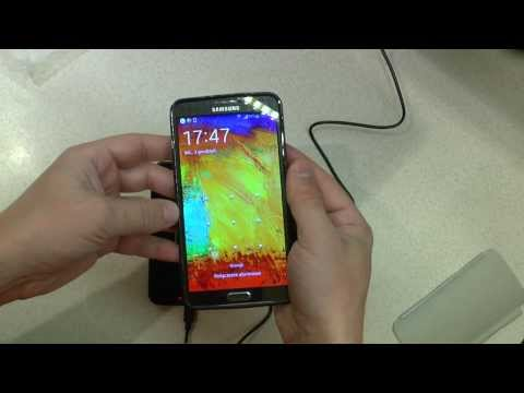 Samsung Galaxy Note 3 Wireless Charging