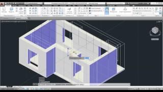 3D Модели в AutoCad 2014