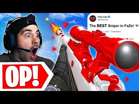 The #1 BEST SNIPER in FaZeClan! 😮 (Cold War Warzone)