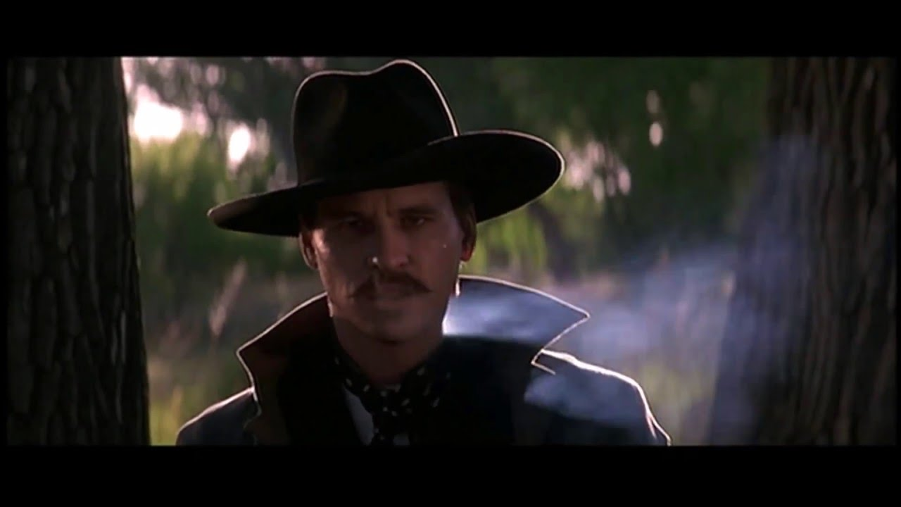 Im Your Huckleberry Doc Holiday Val Kilmer Tombstone