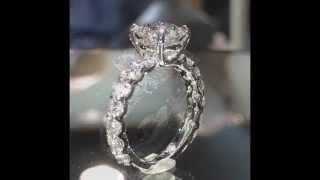 Sparkle! Eye catching Round Diamond Engagement Ring