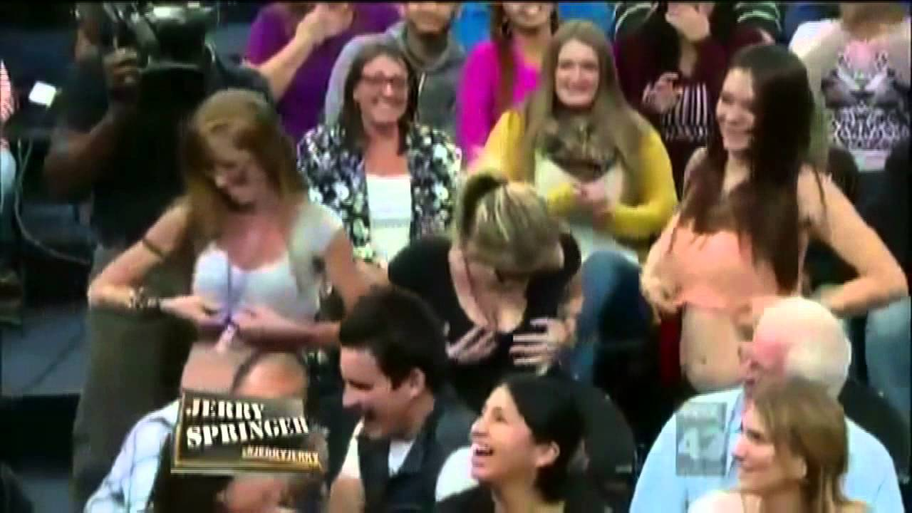 Were Naked bitches on jerry springer opinion