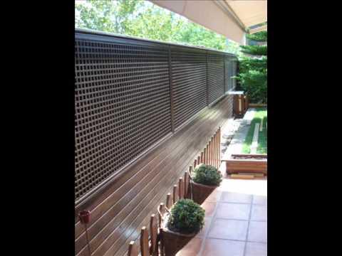 Celosias fachadas y paredes de madera de exterior 02 for Paredes de madera para jardin