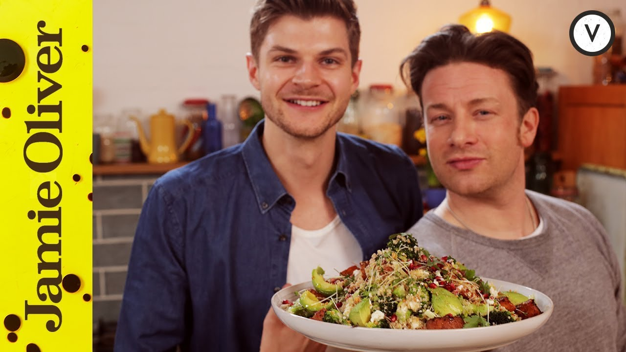 Jamie oliver jim chapman superfood salad youtube forumfinder Image collections