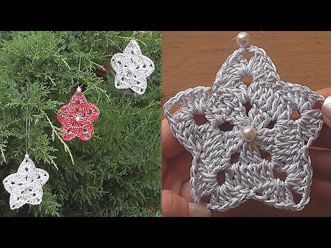 Crochet Motif Pattern Easy Tutorial How To Crochet Snowflake Pattern
