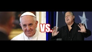 Right Wing Takes Aim at Pope Over