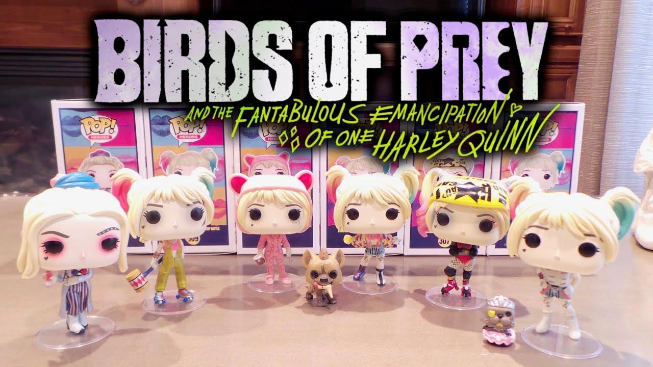 Birds Of Prey Harley Quinn Funko Pops Youtube