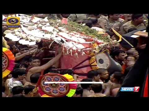 Jagannath Rath Yatra begins in Puri   India   News7 Tamil  