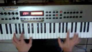 Montuno de piano en Timba