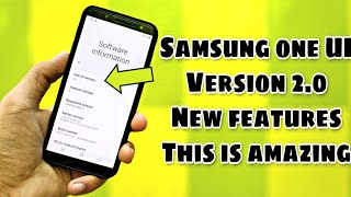Samsung One Ui Version 2.0 With Android Q  New Features Is Coming