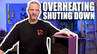 This PC is shutting down due to overheating... let's investigate why!