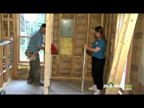 Build A Closet Attaching The Walls Youtube