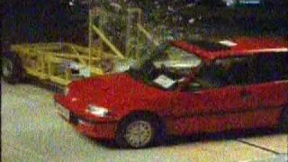 Civic 4gen crash test