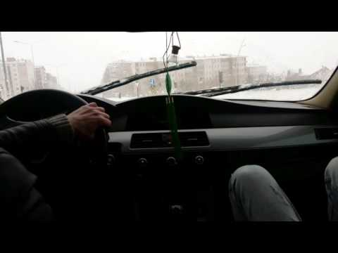 bmw 5.20d drift - youtube